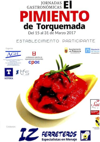 CARTEL PIMIENTO DE TORQUEMADA
